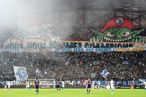 La saison dernière, le stade Vélodrome était plein pour la réception du PSG.