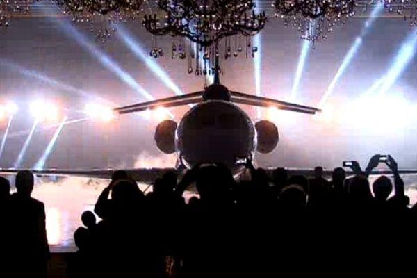 Le Falcon 8X présenté au public et à la presse mercredi 17 décembre 2014