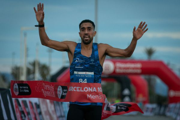Morhad Amdouni a terminé l'année 2020 en remportant le 10 kilomètres de Barcelone.