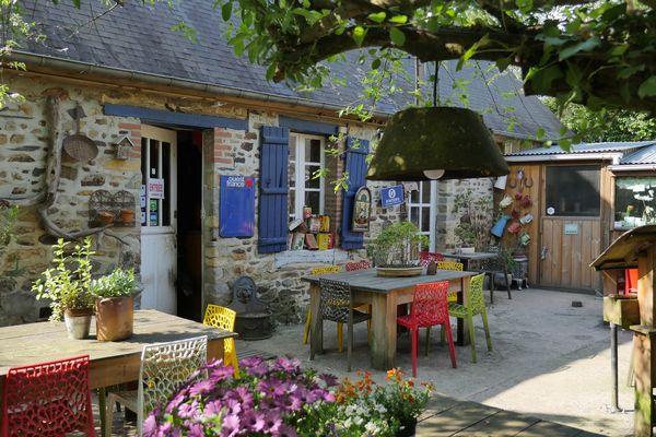La Java Bleue :  une petite maison de campagne devenue en 20 ans un restaurant chaleureux et convivial