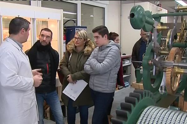 Le lycée de Morteau, dans le Doubs, est un établissement réputé en particulier pour sa formation en horlogerie.
