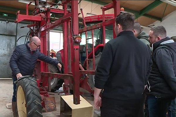 Certains futurs tractoristes sont des passionnés...