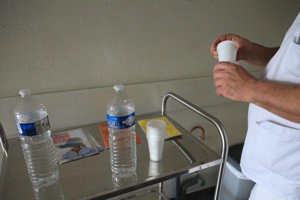 La température atteignait les 35°dans le service pédiatrique de l'hôpital de Moulins-Yzeure