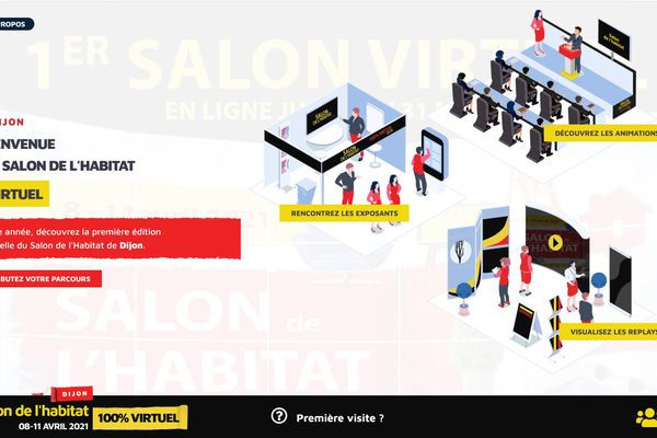 Les internautes pourront rencontrer les exposants et prendre rendez-vous avec eux via le site.
