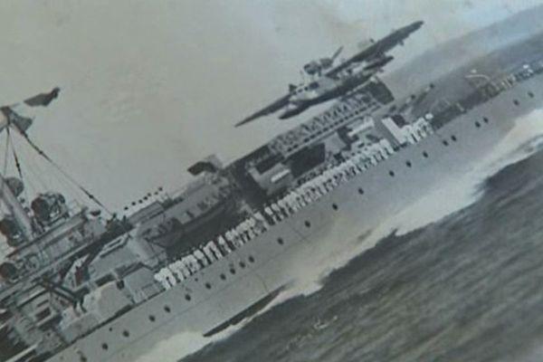 C'est à bord du croiseur Georges-Leygues que Jean Servière a débarqué en Normandie il y a 70 ans.