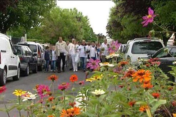 Marche blanche pour Alexie 9 ans et Raphaël 8 ans le 1er juin à Chappes (Puy-de-Dôme)