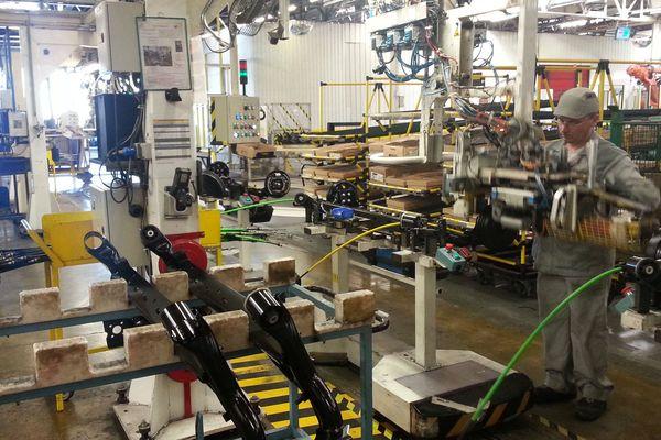 L'usine Renault du Mans (Auto Chassis International) est pour l'instant à l'arrêt complet.