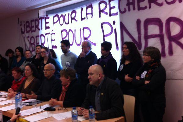 Une conférence de présence de Pinar Selek a été organisé à Strasbourg