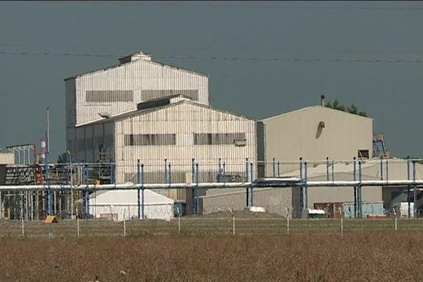 L'usine est fermée depuis la mi-juillet suite à la révélation d'un scandale sanitaire.