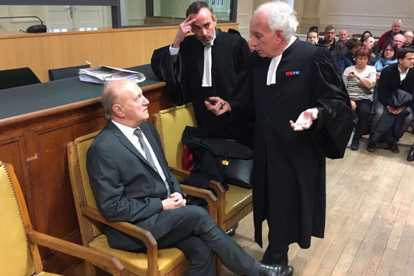 Jean Gravier et ses avocats
