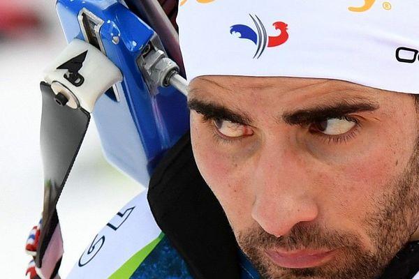 Martin Fourcade s'entraîne au Grand-Bornand ce mercredi 18 décembre.