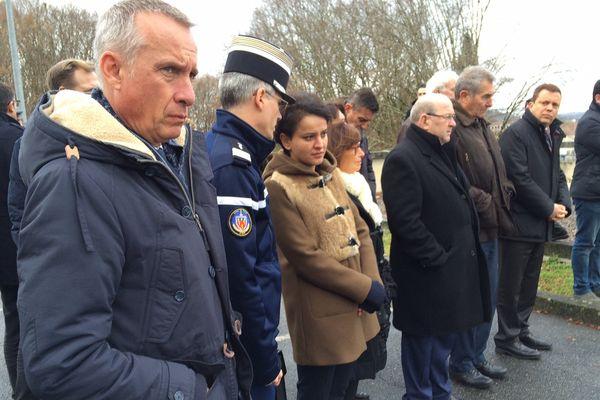 La ministre de l'Education nationale a visité l'école de gendarmerie de Tulle, où sont formés à la sécurité les chefs d'établissements.