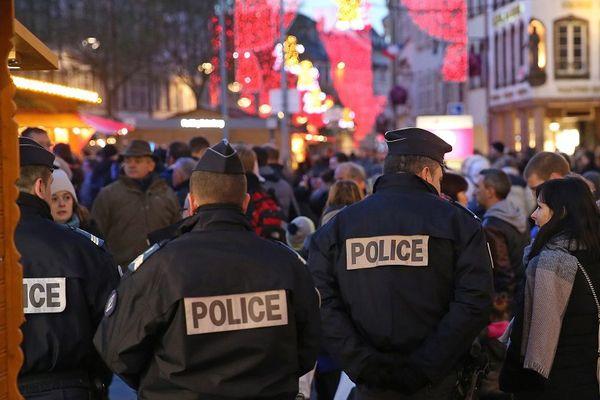 Le centre-ville de Strasbourg sous contrôle