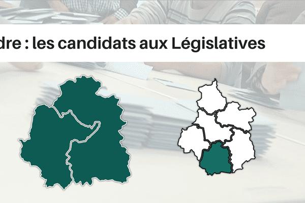 Le département de l'Indre compte 2 circonscriptions législatives