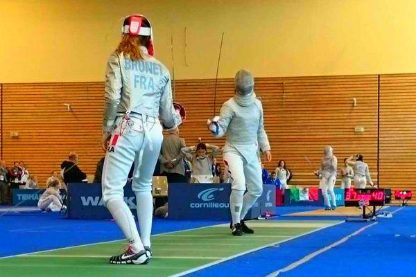 Manon Brunet, vice-championne du monde junior de sabre