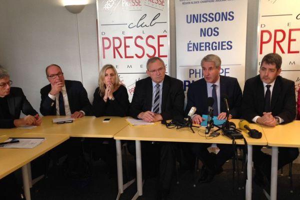 Conférence de presse des Républicains ce matin à Metz