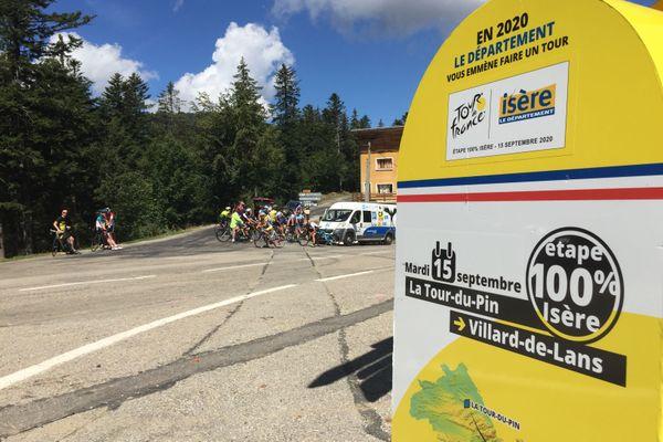 La 16e étape du Tour de France 2020 passera au Col de Porte, en Chartreuse.