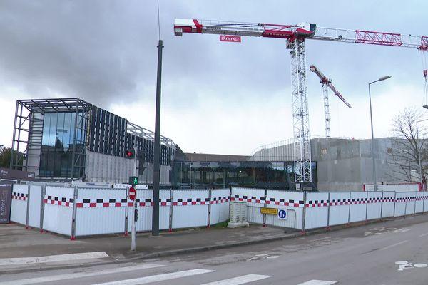 Les travaux de la Cité de la gastronomie de Dijon avancent.