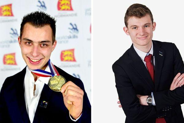 Arnaud Marandet (gauche) et Adrien Mary (droite) représenteront tous les deux la France aux mondiaux des métiers de Kazan (Russie), fin août 2019.