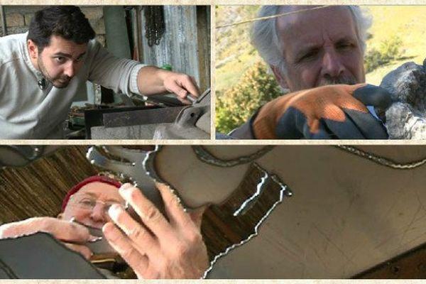 Ferronnier, coutellier, murailler....