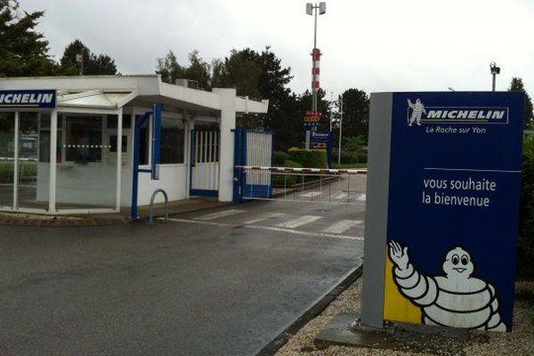 Débrayage à l'usine Michelin de La Roche-sur-Yon