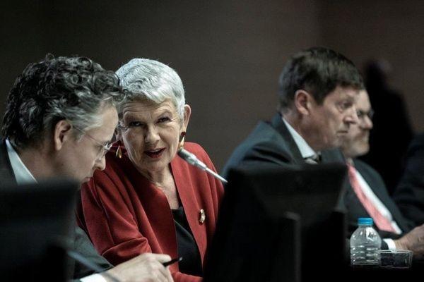 Dans le dernier film de Costa Gavras, Josiane Pinson incarne Christine Lagarde.