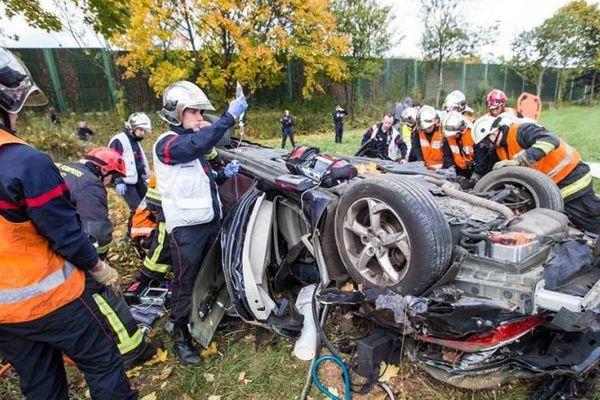Un accident à Colombes, dans les Hauts-de-Seine.