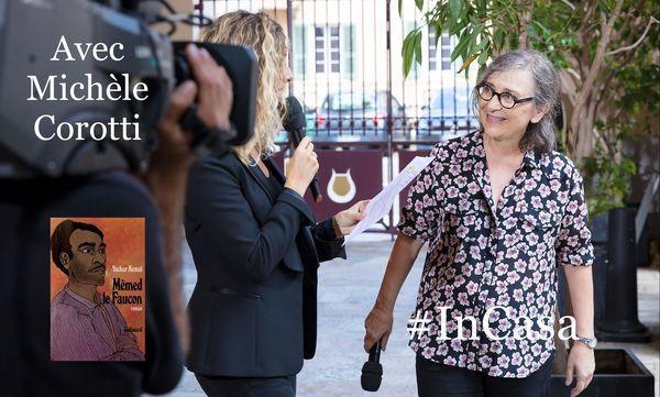 Michèle Corotti, devant notre caméra pour l'ouverture du festival Arte Mare en 2018