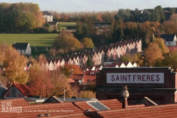 Les usines Saint Frères à Flixecourt ou L'Étoile