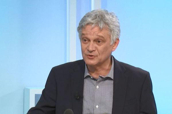 Eric Simoni, candidat de la liste Pè Bastia