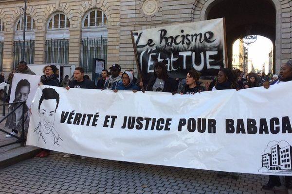 Rennes : marche pour Babacar Gueye et contre les violences policières