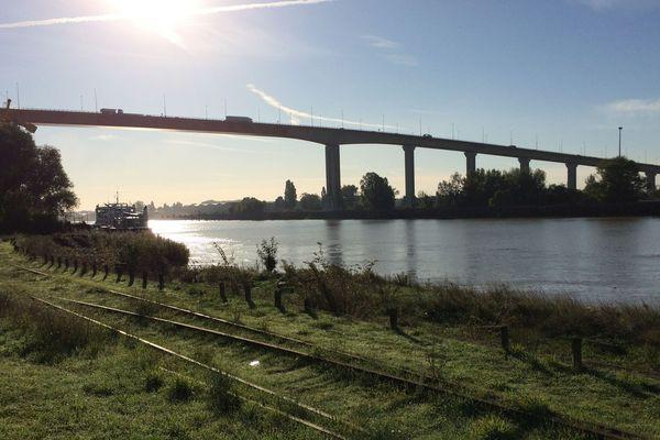 Le pont de Cheviré à Nantes