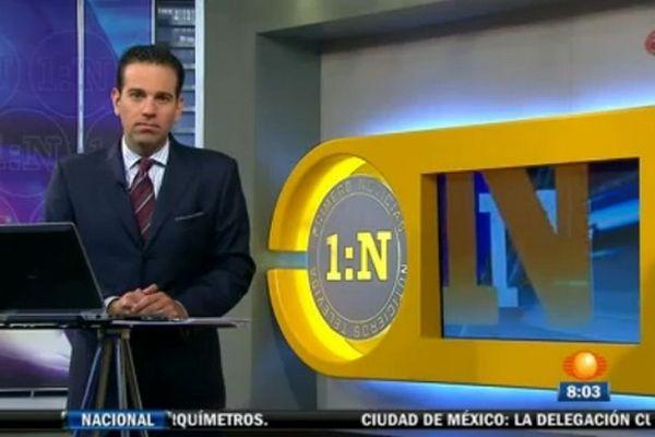 """Le présentateur vedette de Televisa regrette d'avoir diffusé """"la mise en scène"""" de l'arrestation."""