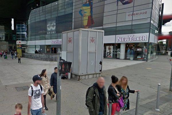 L'agression a été commise ce jeudi vers 16h15 dans la station de métro Lille-Flandres.
