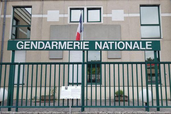 La gendarmerie du Jura située à Lons-le-Saunier.