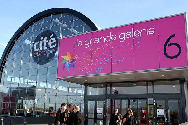Le centre commercial Cité Europe à Calais.