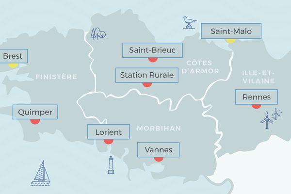 La qualité de l'air est jugée mauvaise ce jeudi par Air Breizh, l'organisme agréé en Bretagne par le ministère chargé de l'Environnement.