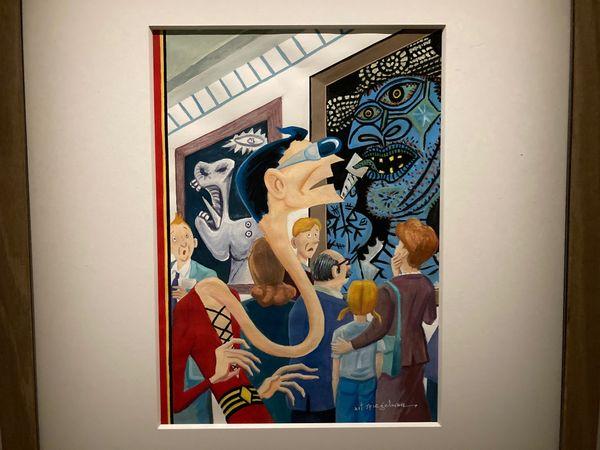 Quand Art Spiegelman rend hommage à Pablo Picasso