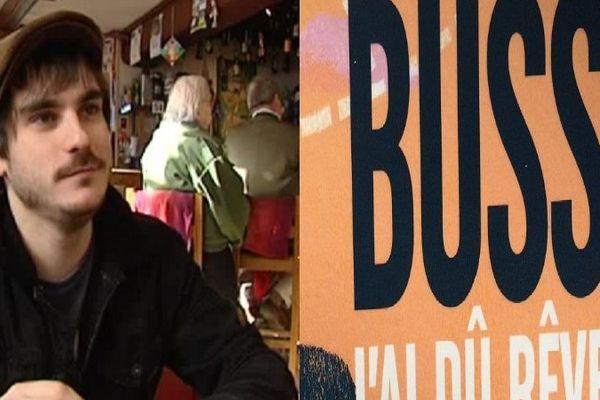 Michel Bussi parolier d'un jour de Gauvain Sers