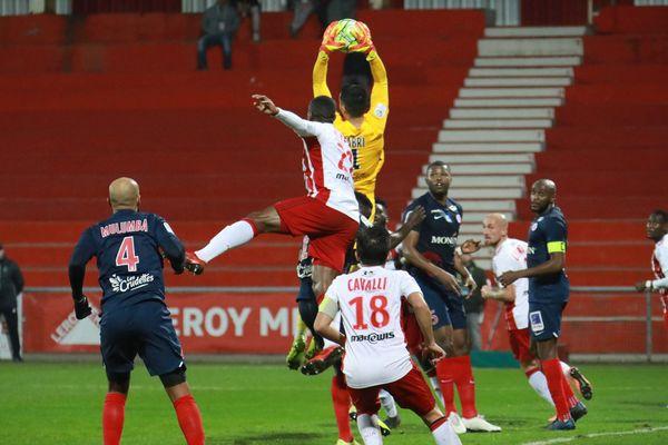 AC Ajaccio / Châteauroux le vendredi 31 anvier 2020 pour la 22e journée de Ligue 2.