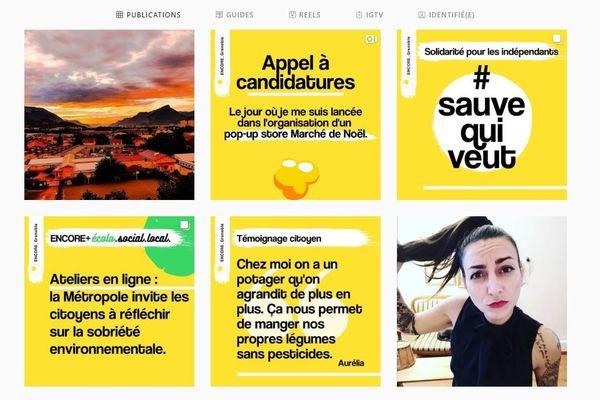 Une communicante grenobloise met en lumière des initiatives d'artisans et petites entreprises sur son compte Instagram.