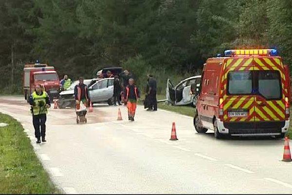 Une femme gravement blessée dans l'accident entre Guéret et la Châtre survenu ce mercredi 16 septembre