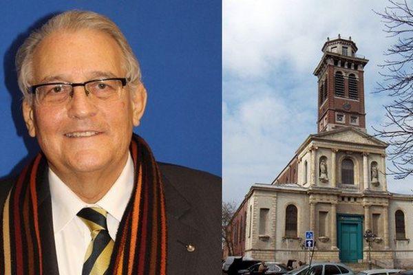 Jean-Pierre Legrand, conseiller municipal FN de Roubaix, propose de transformer l'ancienne église Notre-Dame désacralisée depuis 1983 en lieu de culte pour les musulmans