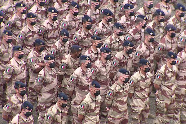 Des militaires du 92e RI de Clermont-Ferrand vont bientôt partir en mission au Sahel.