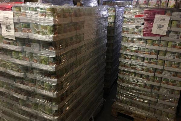 Toulouse - Les demandes d'aide alimentaire sont de plus en plus importantes. A la Banque Alimentaire, la population des bénéficiaires a augmenté de 60% depuis le début de la crise sanitaire. 15 juin 2021.