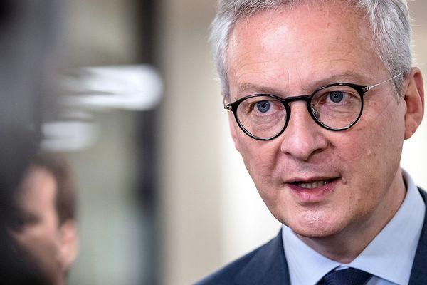 Bruno le Maire, ministre de l'Economie et des Finances