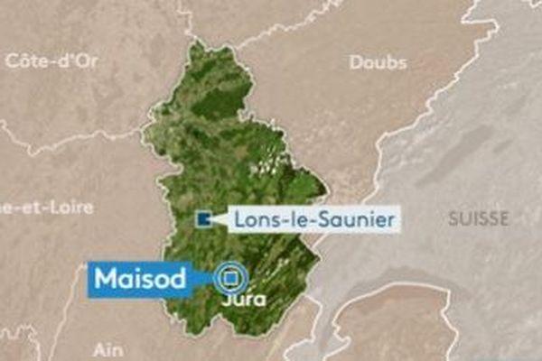 Le drame s'est passé près du port de la Mercantine sur la commune de Maisod (Jura).