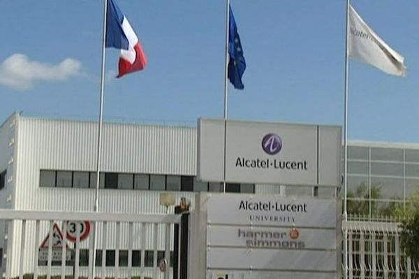 Le site d'Alcatel Lucent à Lannion (22)