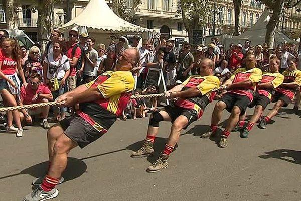 Béziers (Hérault) - les activités de la feria - 15 août 2017.