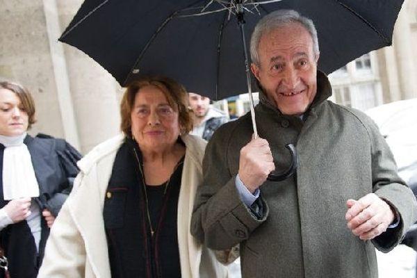 Les époux Tiberi lors du procés en appel le 12 mars 2013